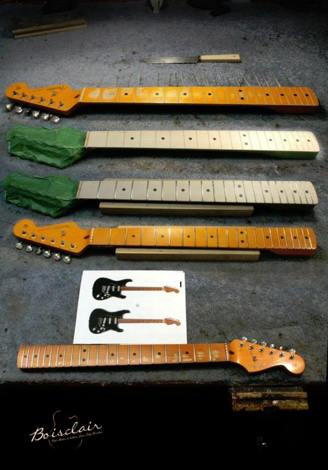 Manche fender Stratocaster david Gilmour